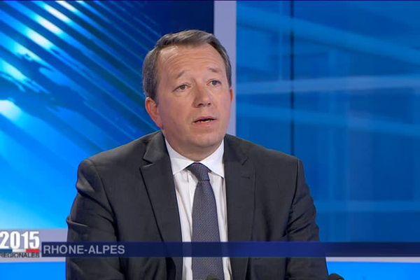 Christophe Boudot, tête de liste FN aux élections régionales