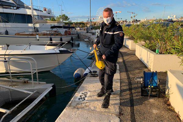 Les gendarmes des Alpes-Maritimes peuvent s'appuyer sur une cartographie des fonds réalisée grâce au sonar high-tech de la brigade fluviale de Strasbourg et sur l'aide internationale.