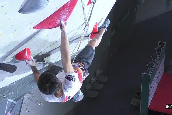 Pour la première fois, l'escalade est inscrite aux JO. Les meilleurs grimpeurs sont venu chercher leur visa pour Tokyo.