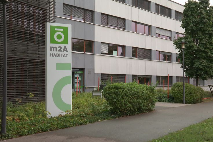 L'office M2A Habitat à Mulhouse