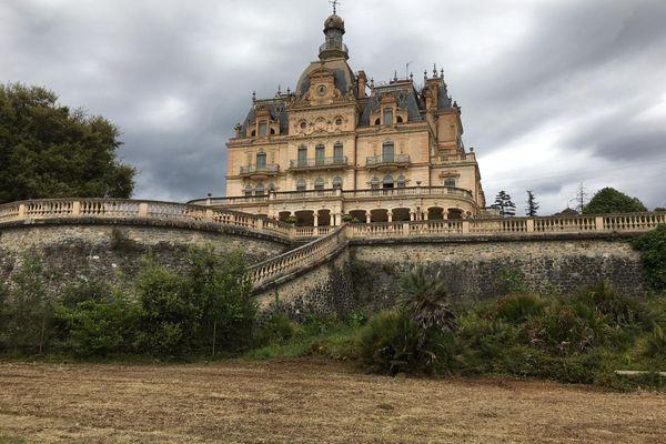 Le château et le parc d'Aubiry à Céret dans les Pyrénées-Orientales -