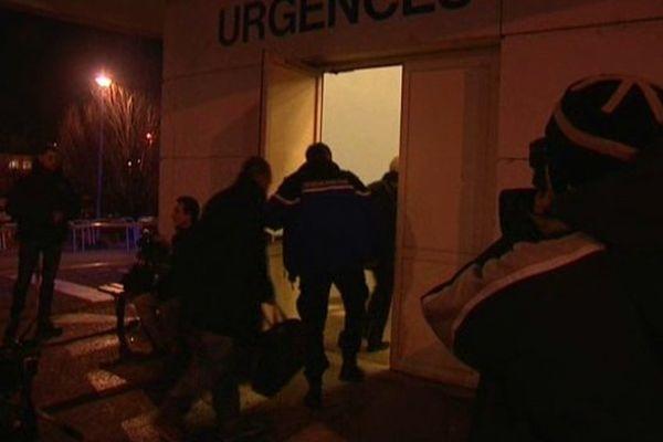 Des gendarmes au CHU de Grenoble