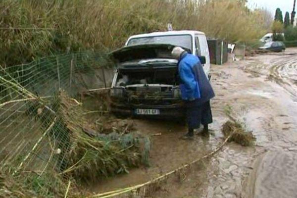 De petits ruisseaux se sont transformés en torrents, causant d'importants dégâts