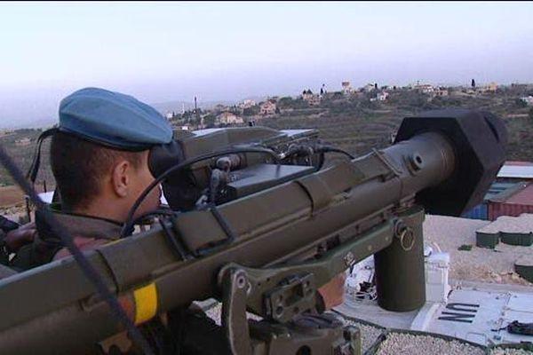 Une surveillance de la frontière entre le sud Liban et la Syrie