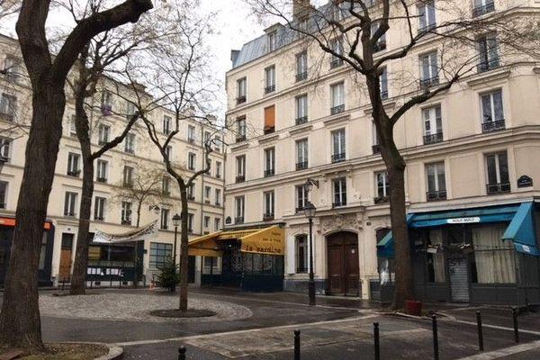 La place Sainte-Marthe dans le 10e arr. de Paris