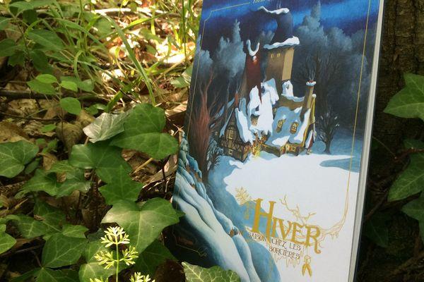 """""""Hiver"""" le deuxième tome de la série """"Une saison chez les sorcières"""" d'Anaïs Goldemberg"""