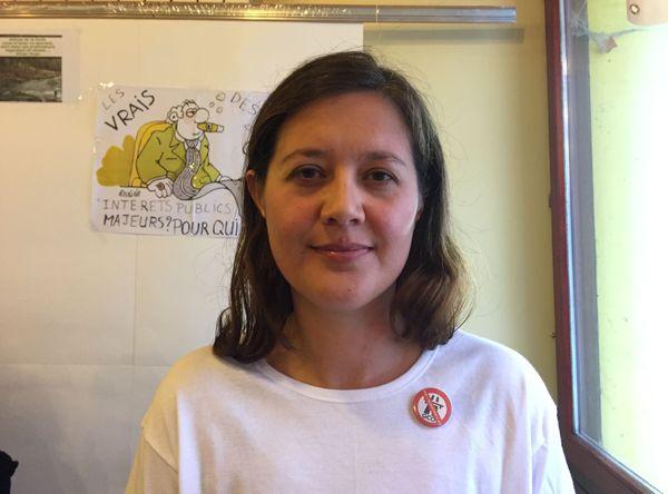 Rachel Kuhn a quitté l'Alsace mais reste marquée par le devenir de son village natal.