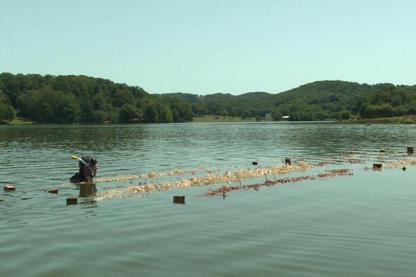 Le lac du Tolerme dans le Lot est un site naturel encadré par la loi Littoral.
