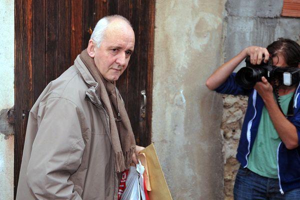 Dany Leprince en 2012, à sa libération conditionnelle.