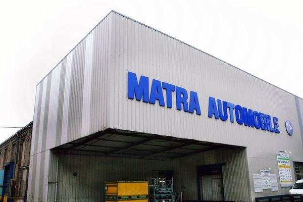 L'usine Matra Automobile en 2002.