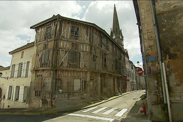 La Maisonsituée au 26 rue des Marmouzets à Joinville (Haute-Marne)