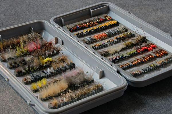 Un exemple de boite de mouches variées