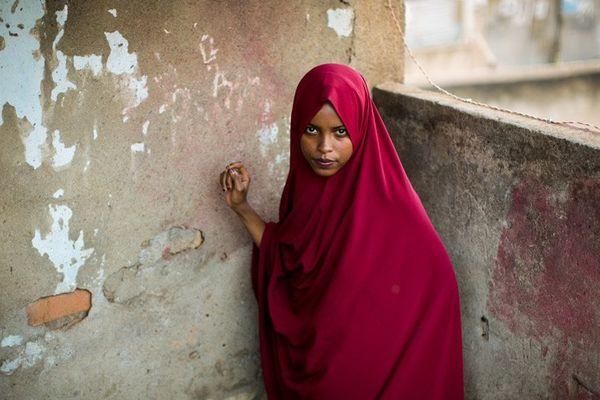 Une photo tirée de l'enquête d'Anne Ackerman sur l'exil des femmes de Somalie
