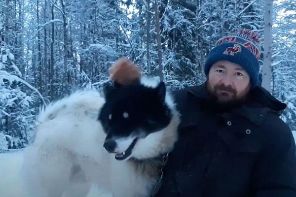 """Yoann lance un appel aux dons pour """"sauver les chiens de traîneau""""."""