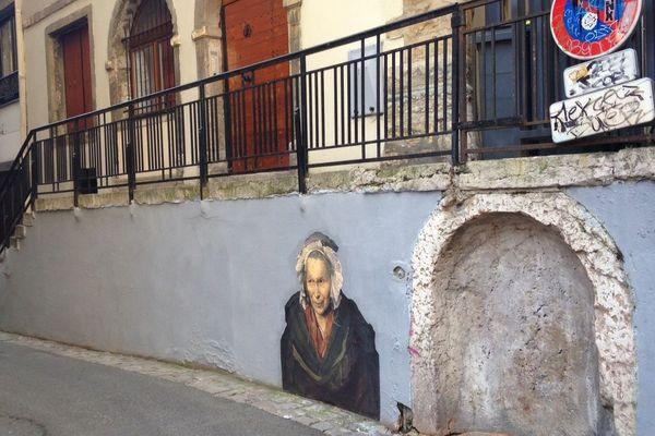 """La """"Monomane de l'envie"""", de Géricault."""