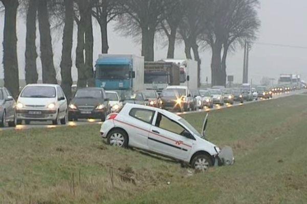 pluies verglaçantes en Picardie