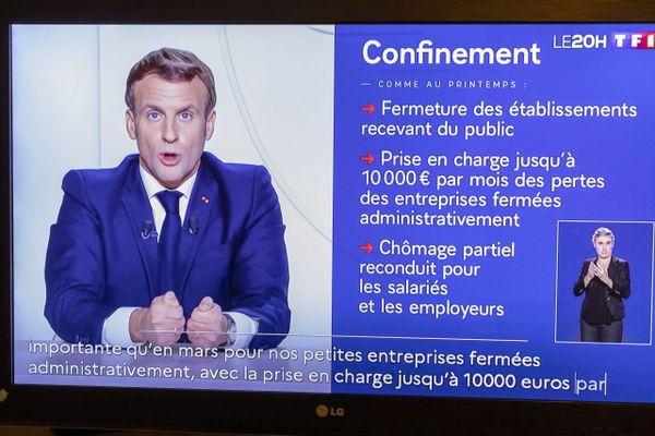 Emmanuel Macron a annoncé un reconfinement généralisé qui devrait durer au moins jusqu'au 1er décembre.