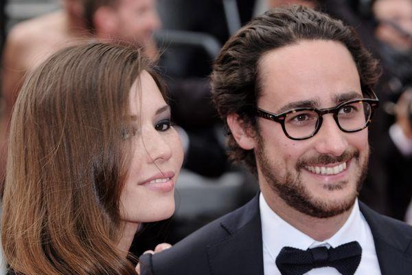 Emilie Broussouloux et Thomas Hollande à la 70e édition du festival de Cannes.