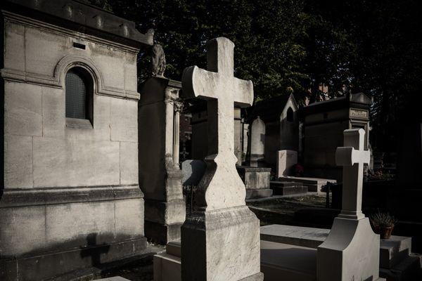 Un cimetière à Paris