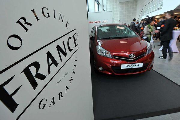 Depuis mai 2013, la Yaris a obtenu le label Origine France Garantie puisque 56% de sa valeur ajoutée est obtenue à Onnaing.