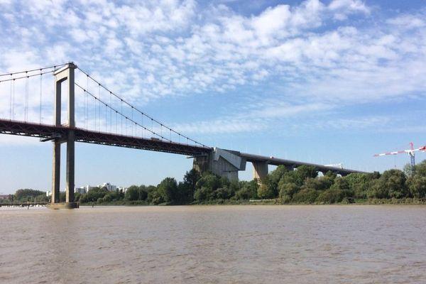Le pont d'Aquitaine à Bordeaux