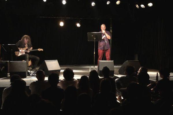 Alain Damasio et Yan Péchin en concert