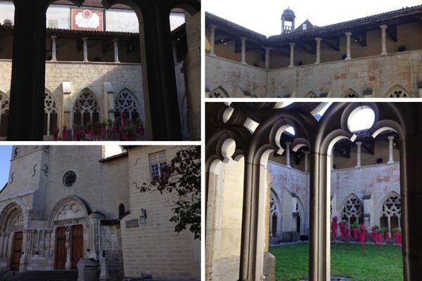 L'Abbaye d'Ambronay (Ain).