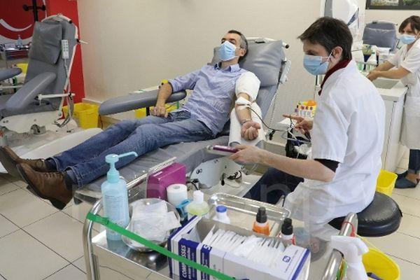 Face aux réserves de sang en baisse, un appel aux dons a été lancé en Haute-Garonne. Archives.