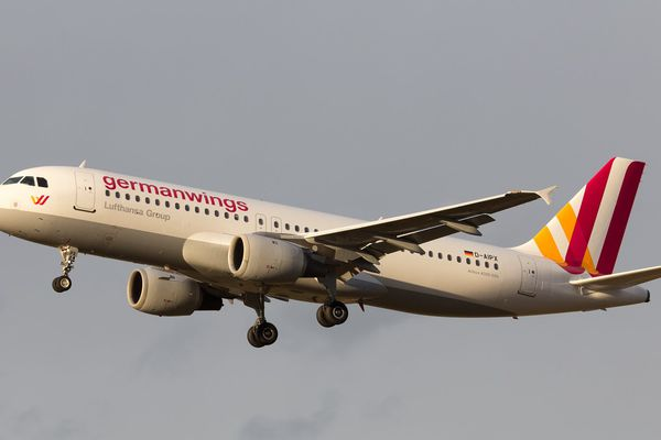 Photo d'archives de l'A320 D-AIPX de Germanwings