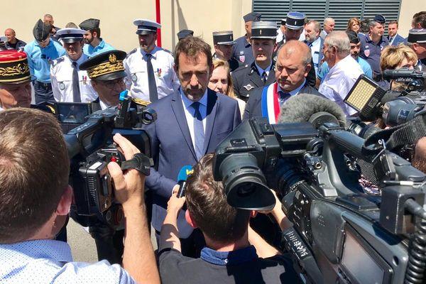 Vinassan (Aude) - Christophe Castaner inaugure la gendarmerie  - 17 juin 2019.