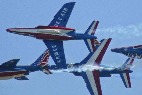 Des avions de la patrouille de France feront le show dimanche.