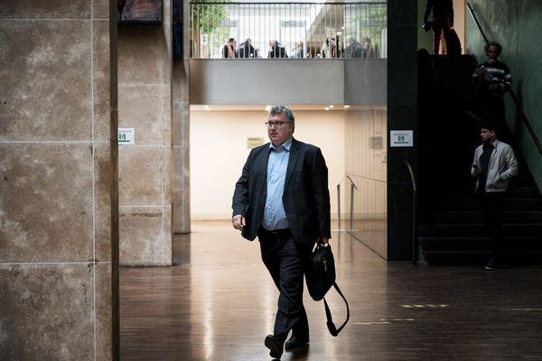 Christophe Tostain, au tribunal correctionnel de Lyon, en avril 2019.