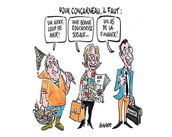 Le débat pour la ville de Concarneau vu par Loïc Schvartz