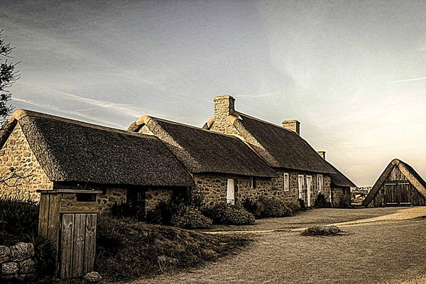 Le hameau de Kerlouan, dans le Finistère. Photo envoyée par Cédric Mirail