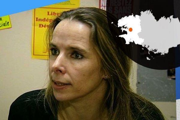 Nadine Hourmant, visage d'un combat militant acharné.