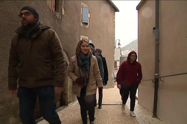 Les étudiants en architecture de Montpellier en mission en Lozère.