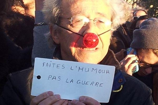Montpellier - un slogan dans le cortège - 11 janvier 2015.