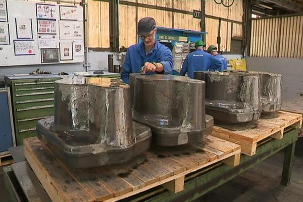 Le site de Bouzonville emploie 170 personnes dans sa forge.