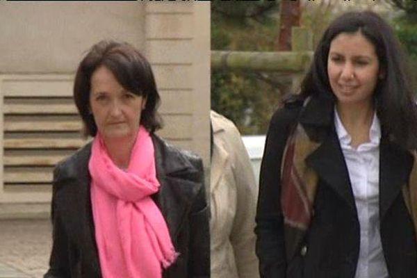 Sylvie Jacq, Elue DVD Thury-Harcourt et Salyha Achouchi, Elue UG Caen 3