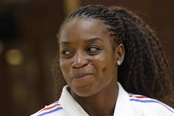 Gévrise Emane, avant son départ pour les Mondiaux 2015, à Astana, au Kazakhstan.