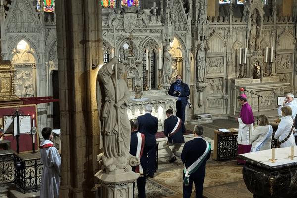 Une vingtaine de fidèles a pu assister à ces Ostensions exceptionnelles église Saint-Michel-des-Lions à Limoges