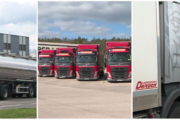 En Bourgogne-Franche-Comté, les transports routiers résistent à la concurrence européenne et internationale.