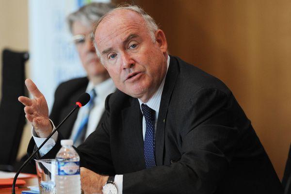 Dominique Bussereau, président du conseil départemental de Charente-Maritime.