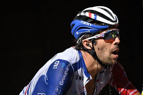 Thibaut Pinot a souffert physiquement sur ce Tour de France 2020 à cause d'une chute dès la première étape.