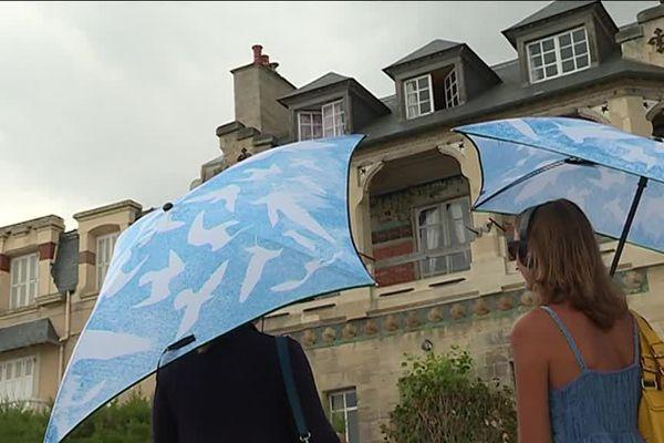 La délicate : visite immersive grâce aux ombrelles connectées