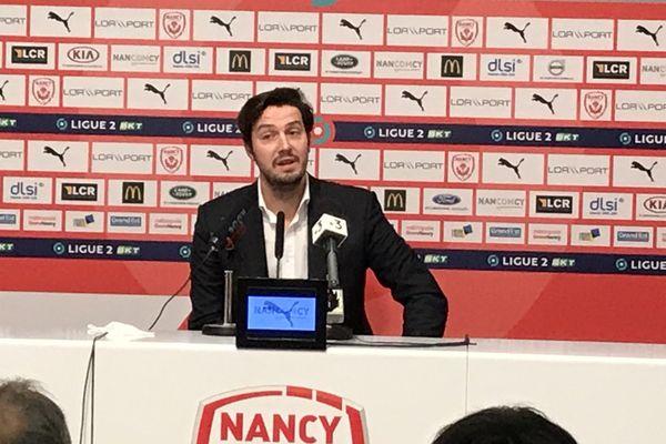 """""""Je structurerai le club pour performer"""", Gauthier Ganaye, le nouveau président de l'ASNL"""