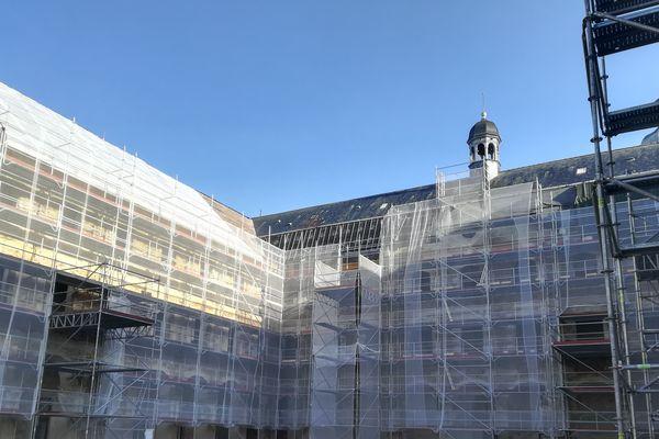 L'ancien couvent de la visitation, au centre-ville du Mans, fait peau neuve.