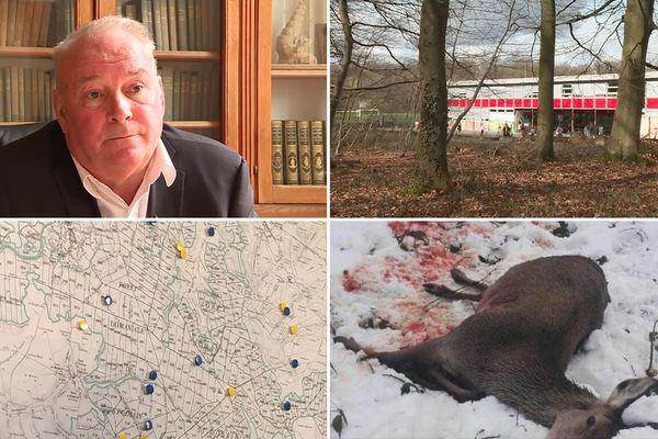 Frédéric Mathieu passe à l'offensive, après la mort d'une biche à une centaine de mètres de l'école primaire de sa commune.
