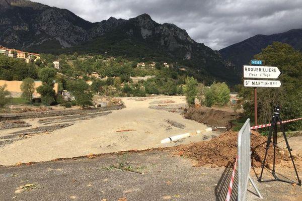 À Roquebillière, le 4 octobre 2020.