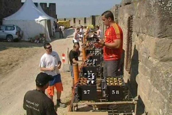 50 artificiers et 2 tonnes de matériel de pyrotechnie sont nécessaires pour assurer le spectacle